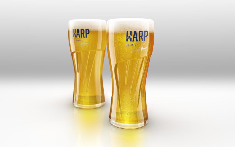Harp glasses