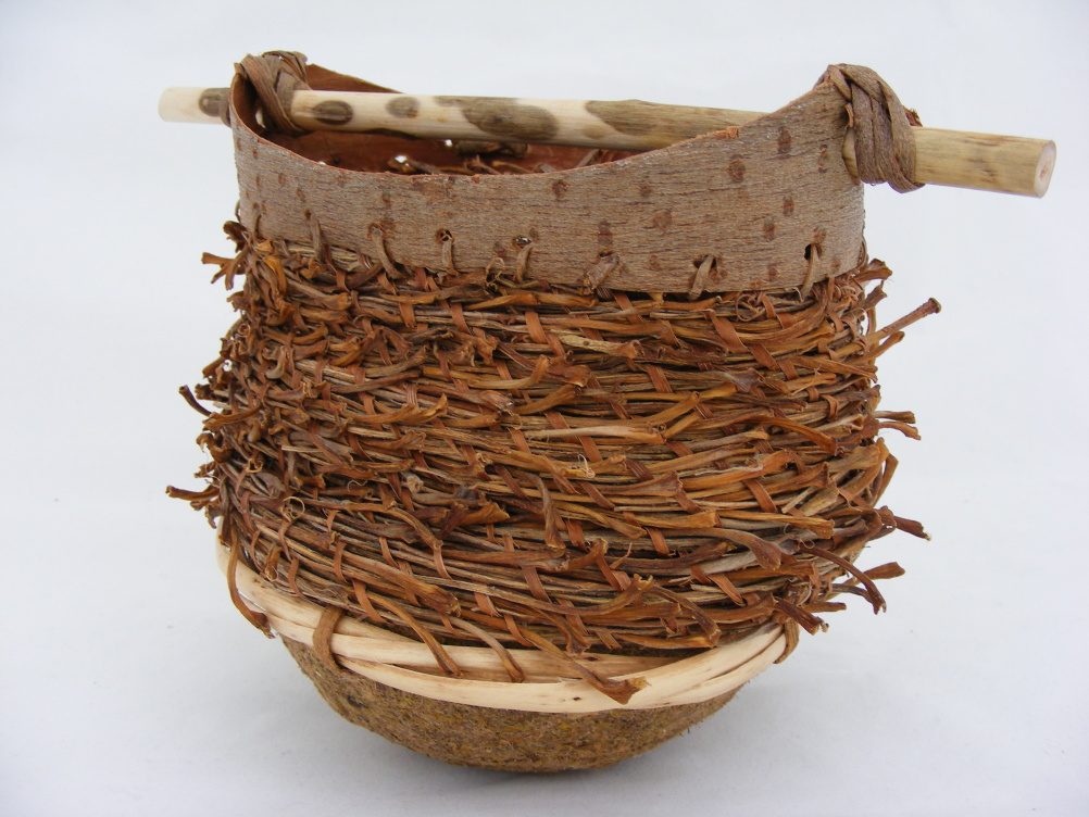 Maggie Smith, Willow Ware Coiled basket