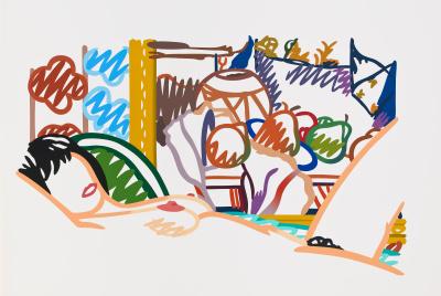 Tom Wesselmann, Monica Nude with Cezanne, 1994