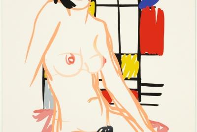 Tom Wesselmann, Monica Sitting with Mondrian, 1989