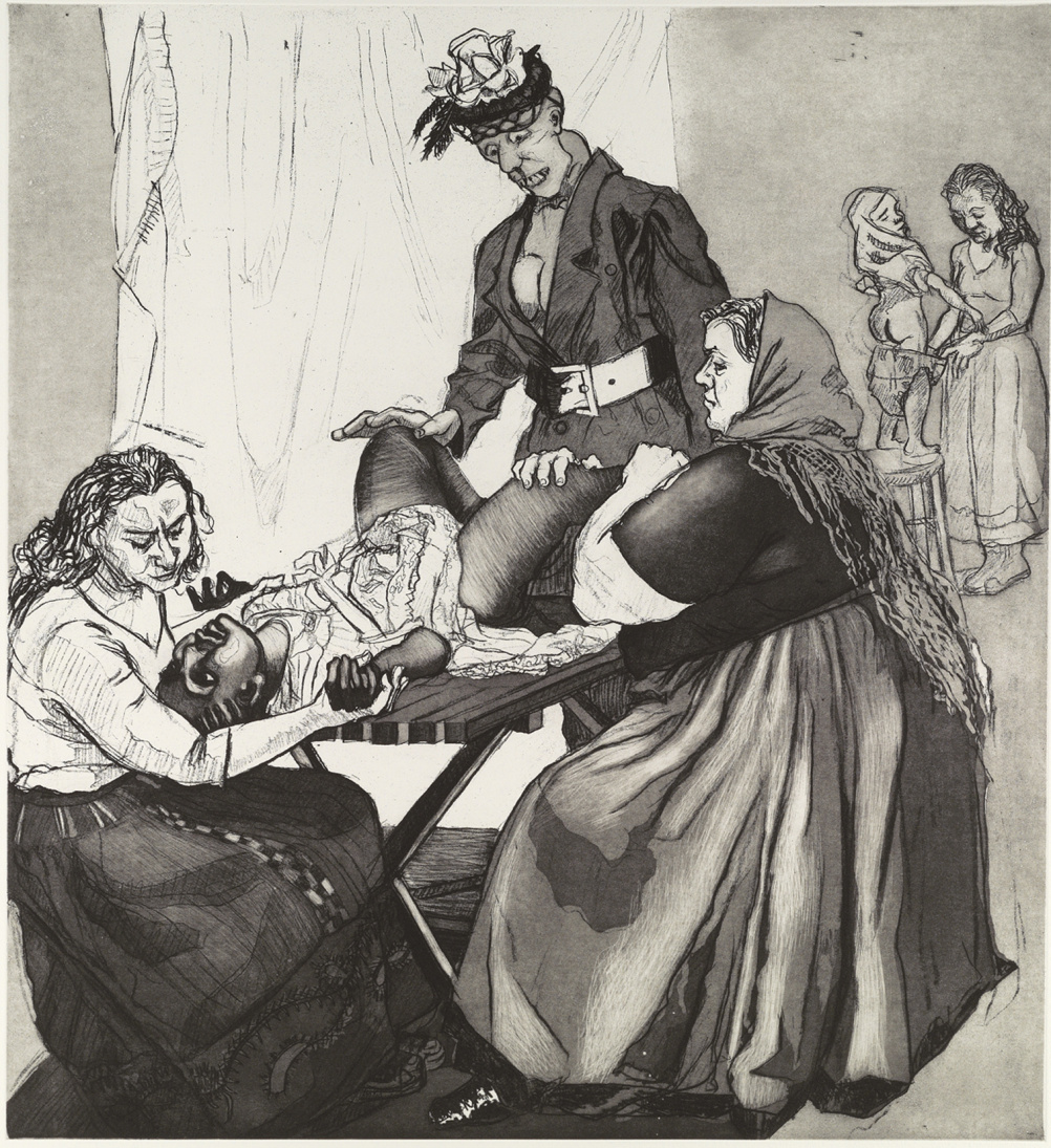 Circumcision, by Paula Rego
