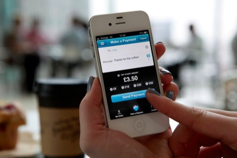 Barclays Pingit, developed in a 'start-up' style method, according to the bank