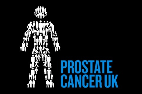 Prostate Cancer UK identity, by Hat-Trick Design