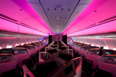 Virgin Atlantic's Upper Class cabins