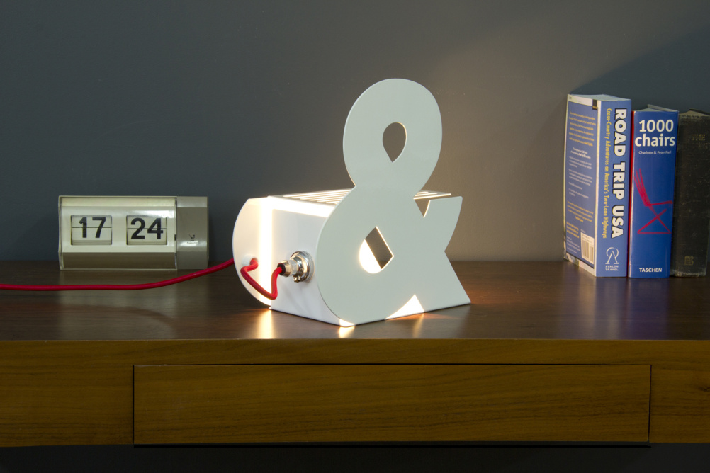Ampersand lamp