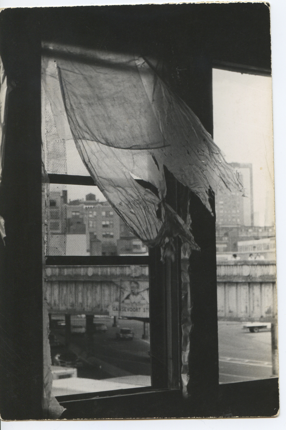 Alvin Baltrop, The Piers (open window) 1975-86
