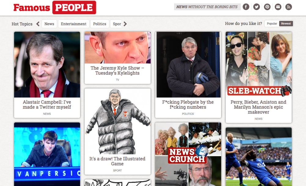The Sunday People online