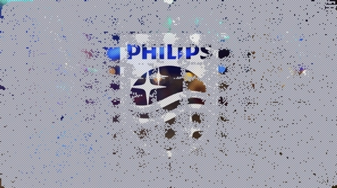 The new Phlips shield, partially revealed on the #UncoverPhilips website
