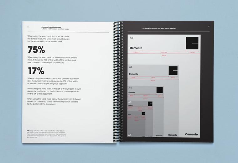 Cemento brand guidelines book