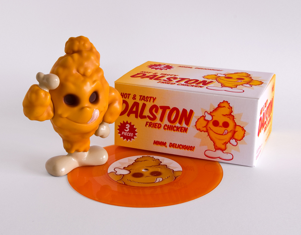 Dalston Fried Chicken vinyl toy