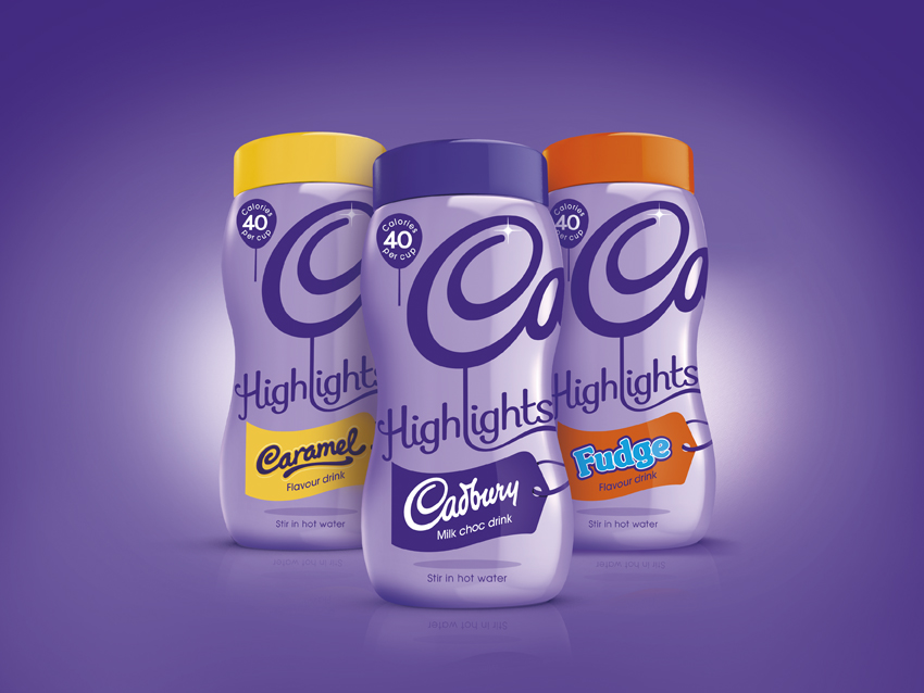 The new Highlights range packaging