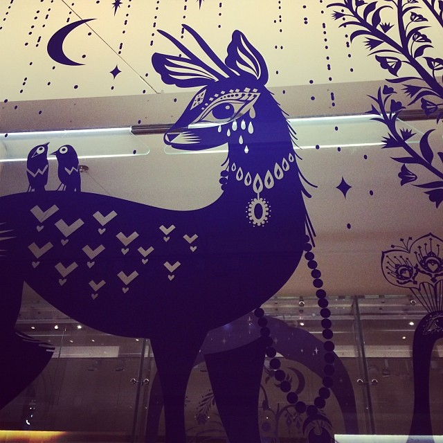 Louise Wilkinson deer.