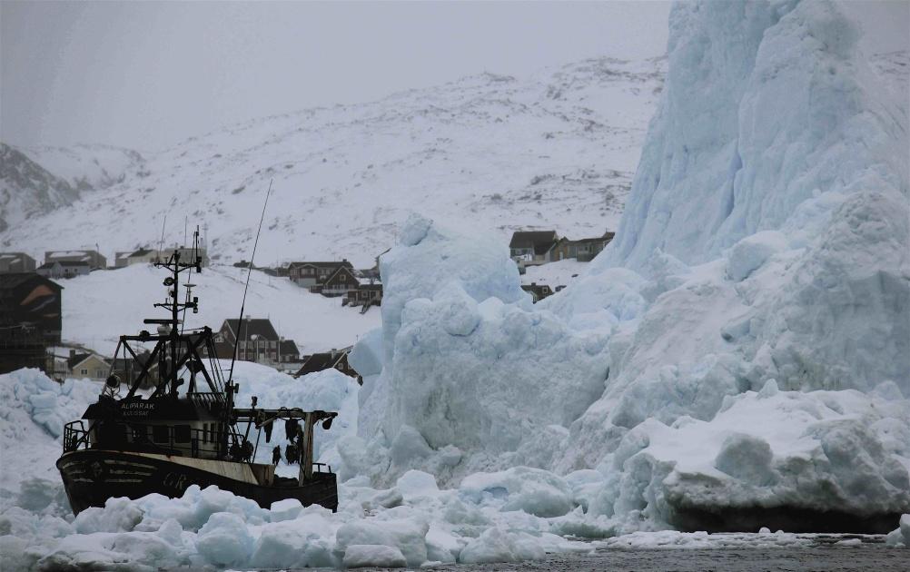 Off Ilulissat Northern Greenland