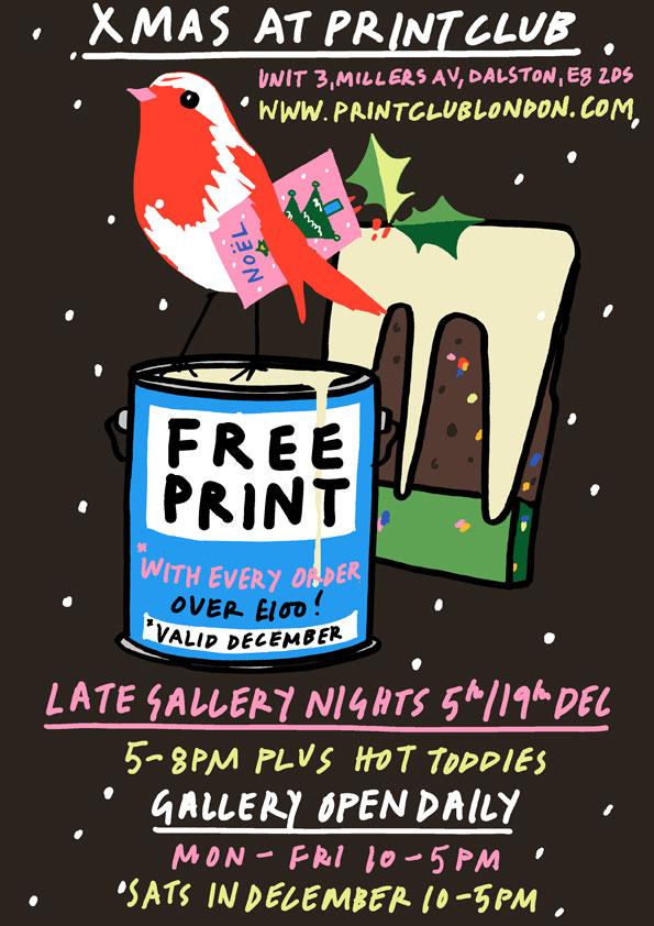 Print Club Christmas