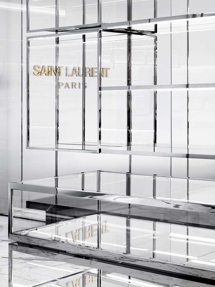 Saint Laurent Paris store