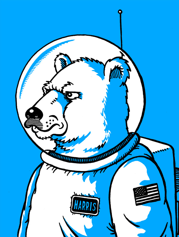 Spacebear by Walter Newton