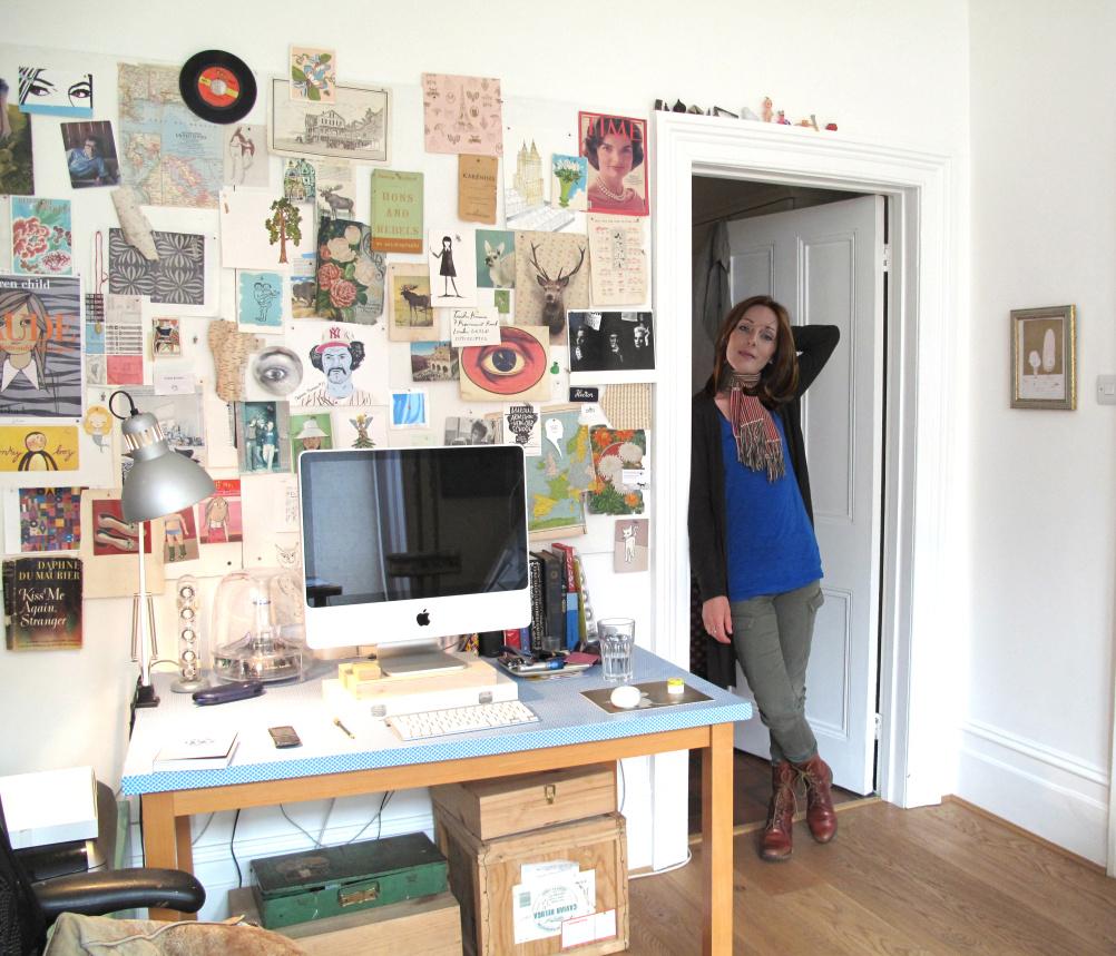 Trisha Krauss' studio