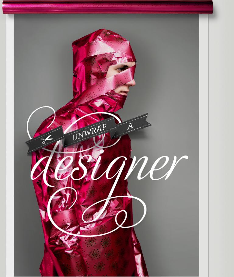 unwrap a designer