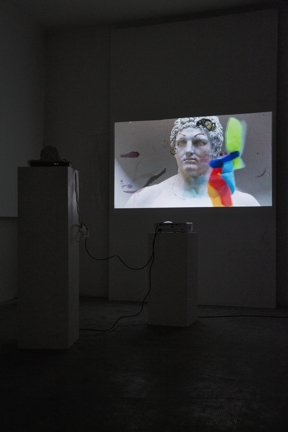 Trisha Baga Gravity, 2013. Installation view, Peep-Hole, Milan