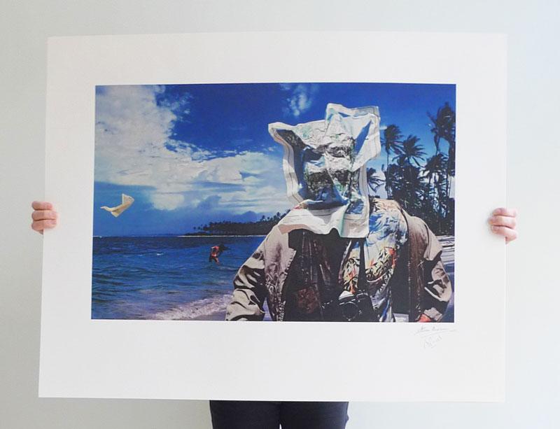 10cc Bloody Tourists - photo of print
