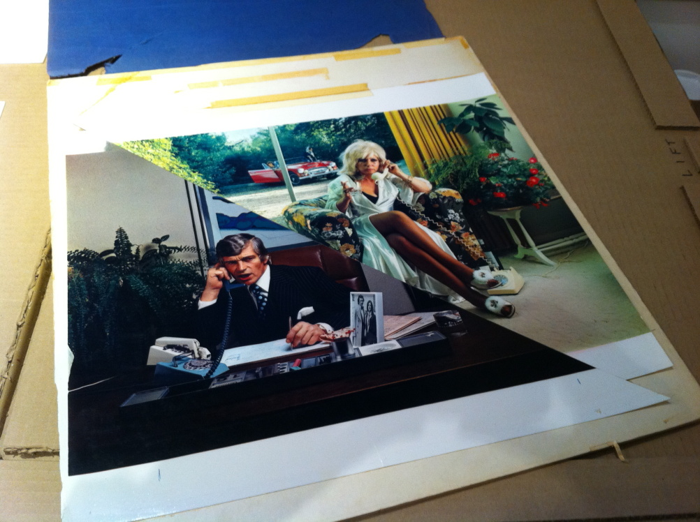 10cc How Dare You! - photo of print