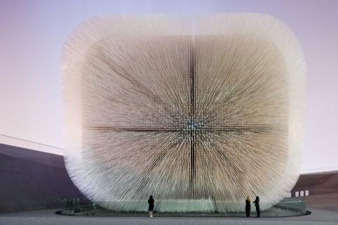 Thomas Heatherwick Studio's UK Pavilion Seed Cathedral, Shanghai Expo, China 2010