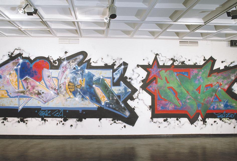 Work in Bristol's Arnolfini Gallery