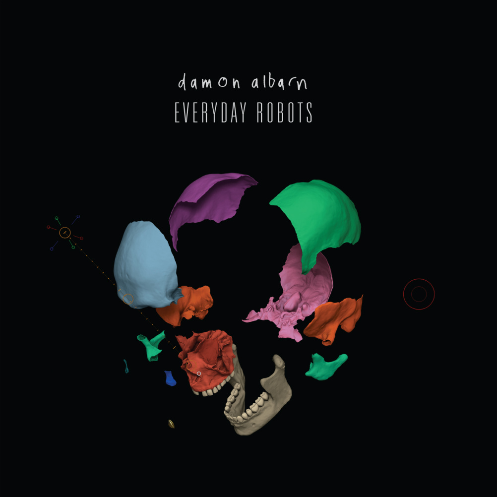 Aitor Throup - Damon Albarn - Everyday Robots Single.
