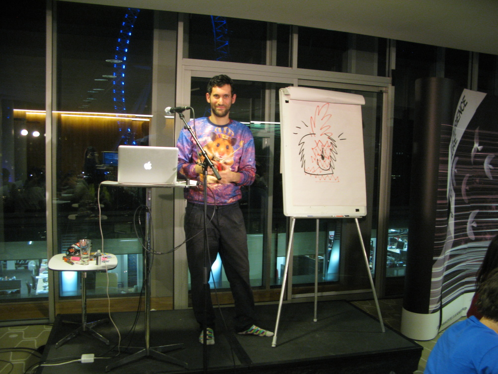 An Evening with Jon Burgerman at the  Southbank Centre