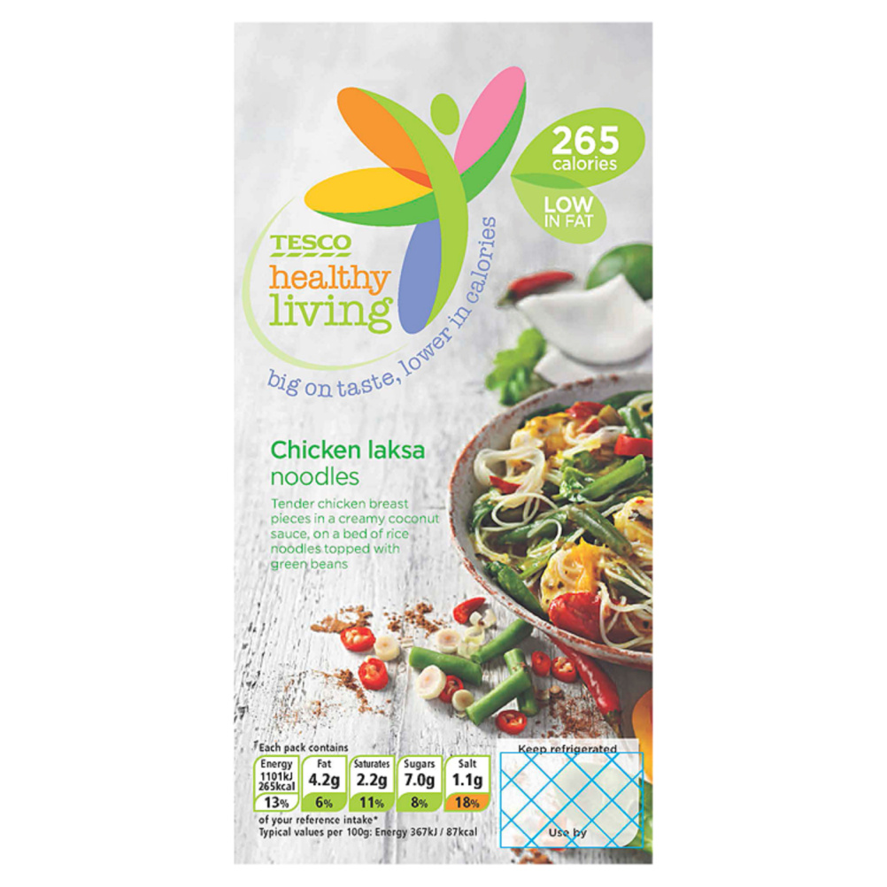 Big on Taste Lower in Calories Chicken Laksa Noodles