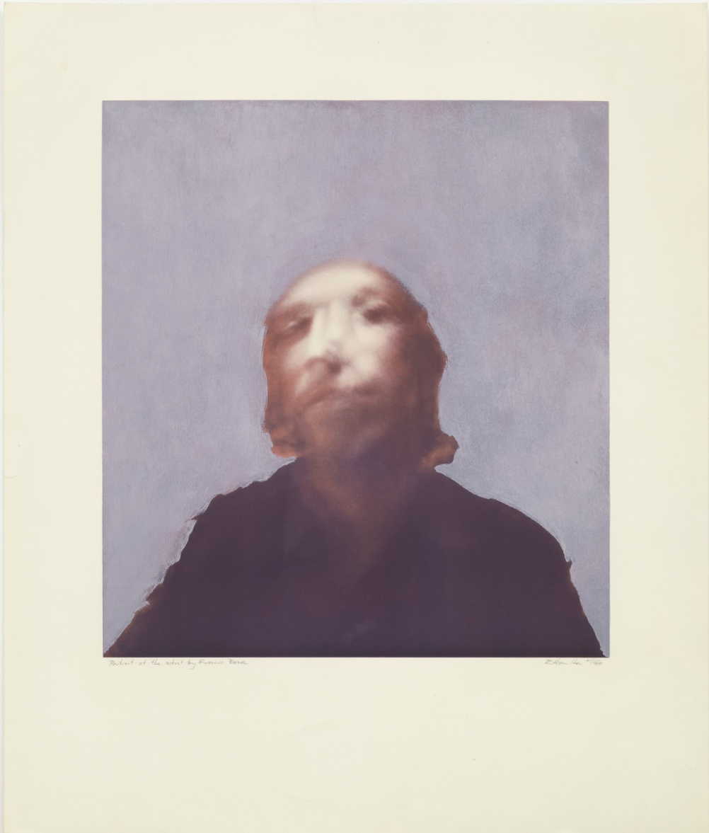 A portrait of the artist by Francis Bacon 1970-71