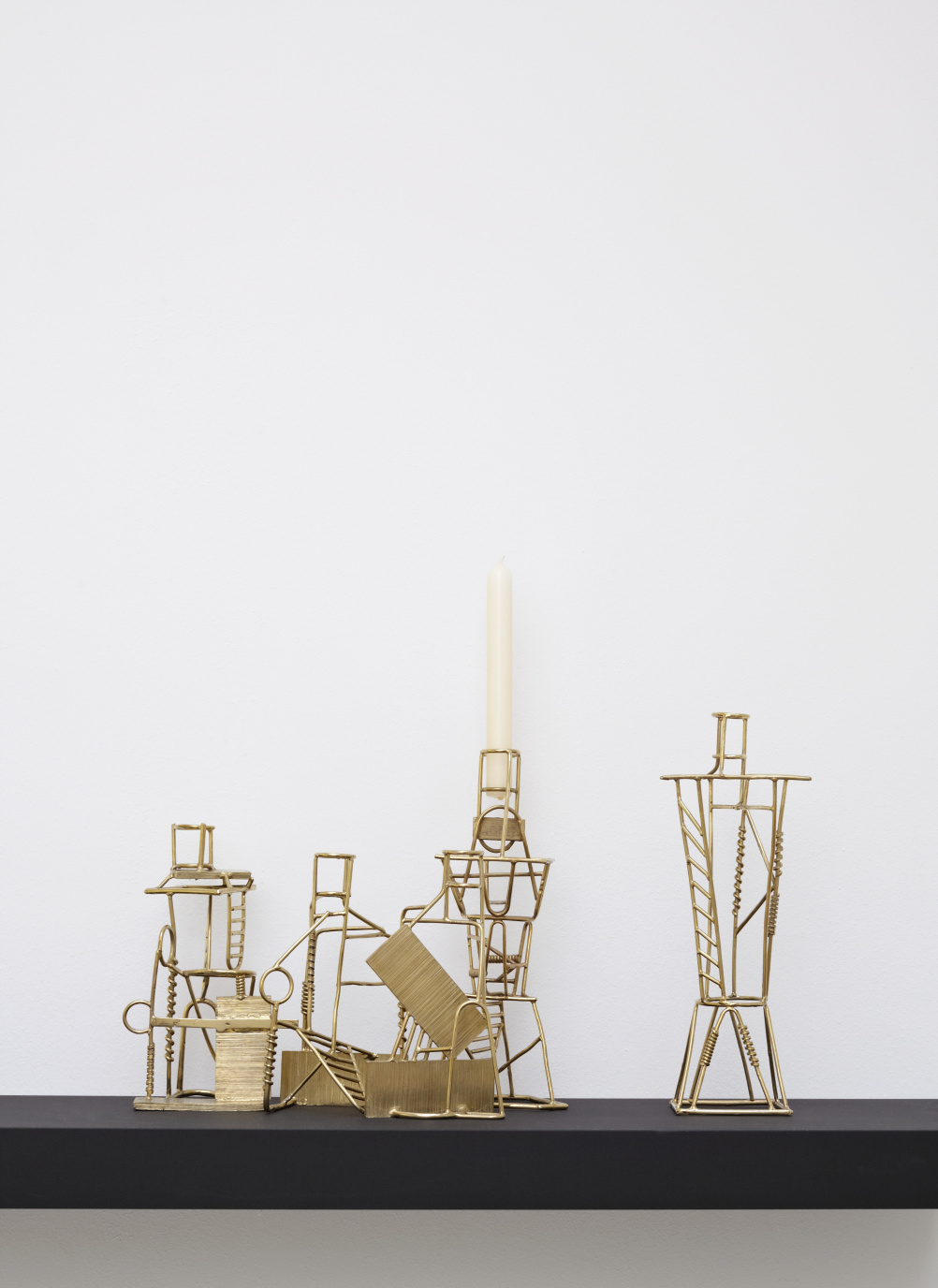 Drawn Candlesticks by Fabien Cappello, 2012