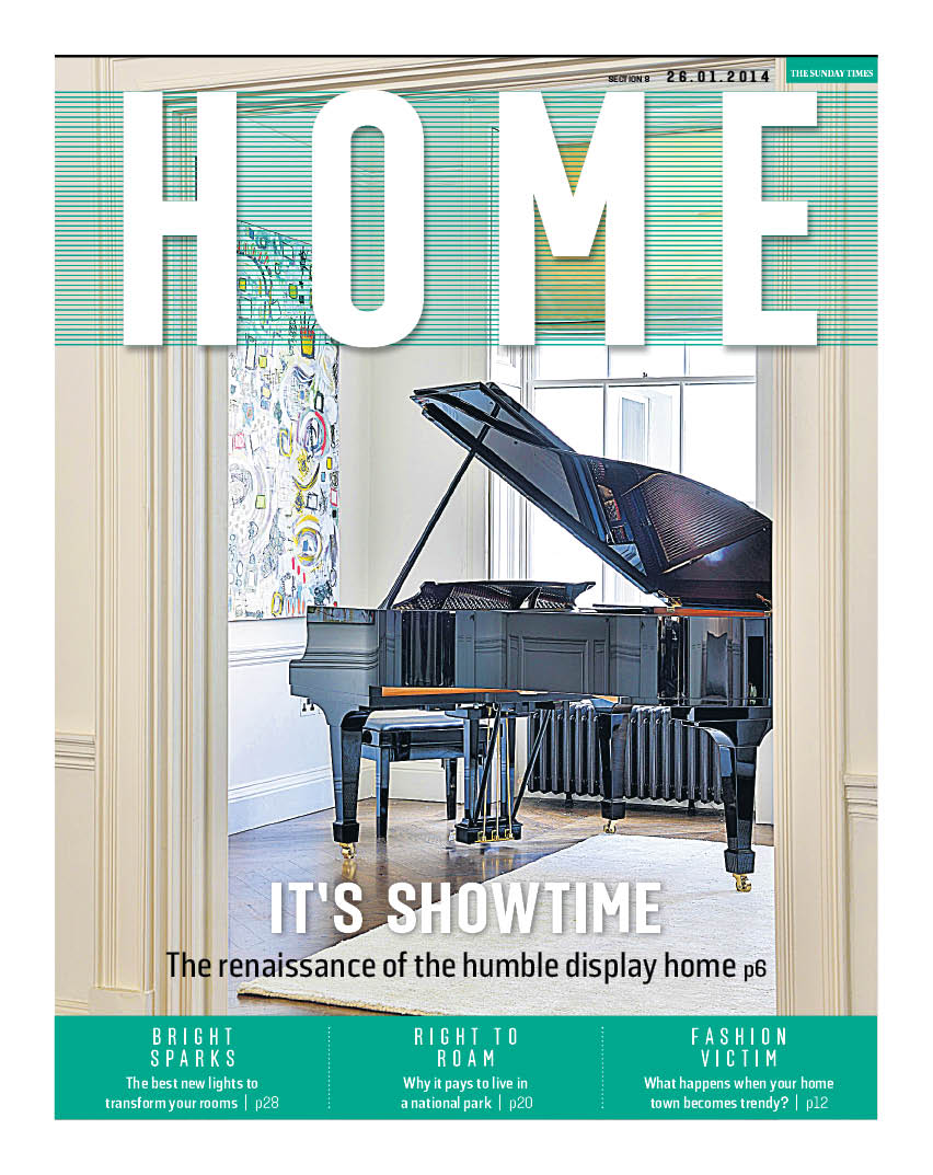 New Home section cover