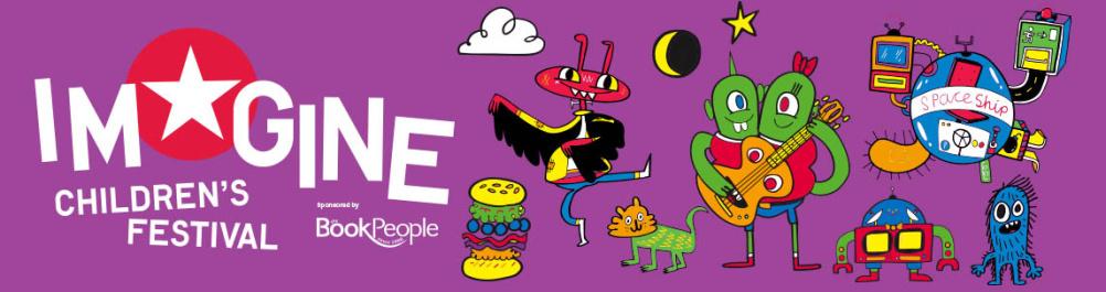 Imagine Children's Festival banner