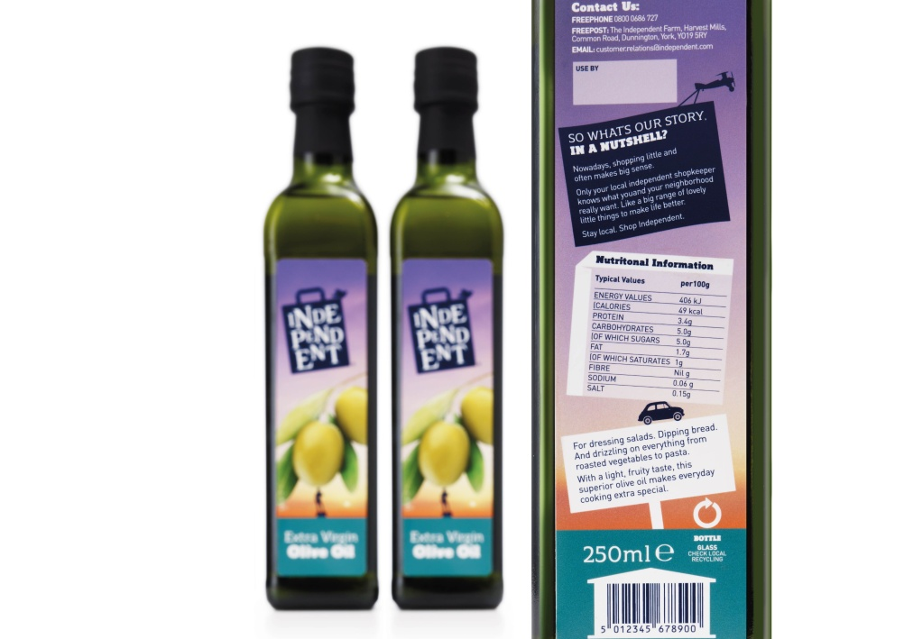 Independent Specialist olive oil