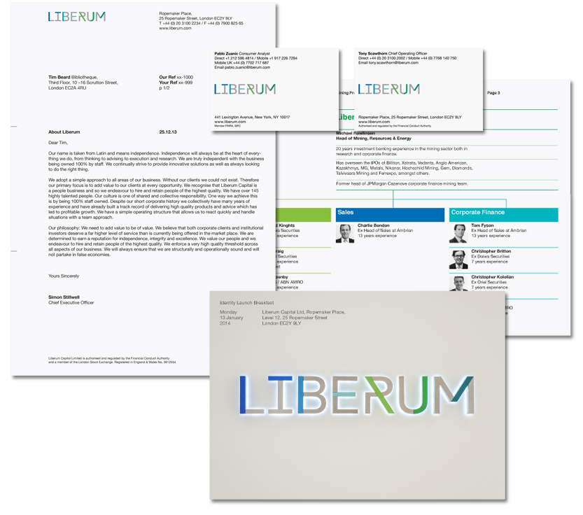 Liberum stationery