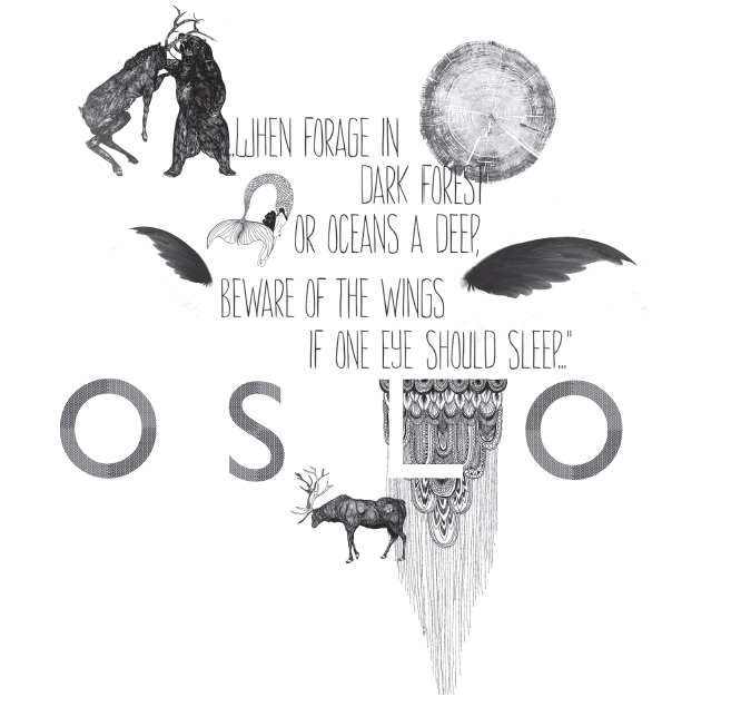 Oslo illustrations