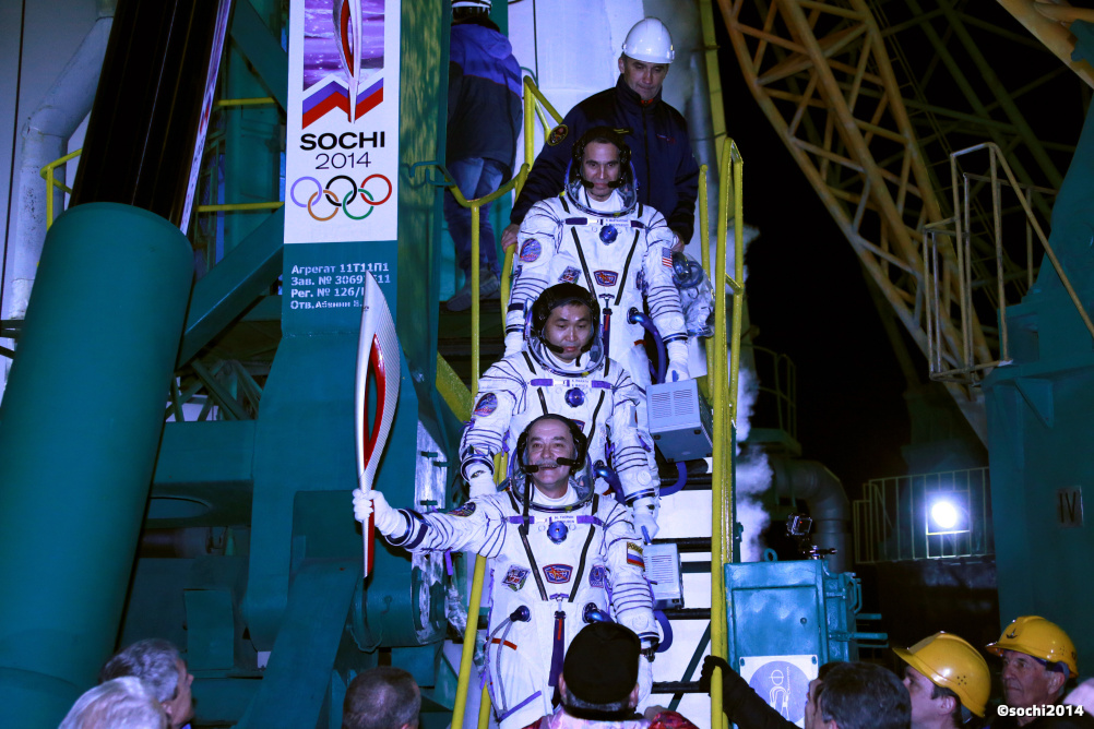 Sochi 2014 has witnessed the longest ever torch relay - and included a space leg