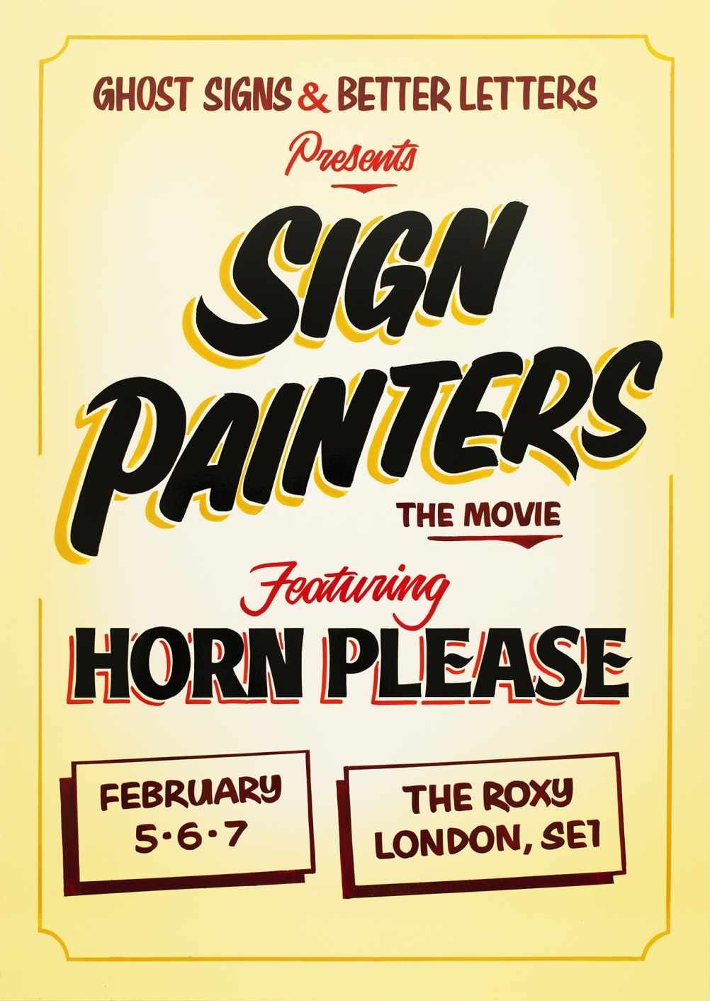 Sign Painters and Horn Please film poster