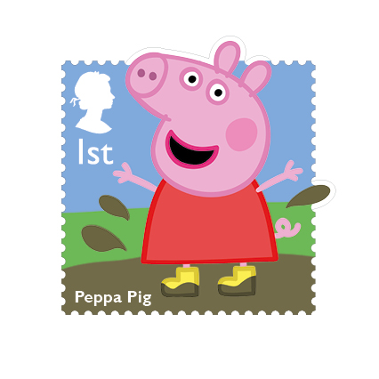 Peppa Pig celebrates her 10th anniversary in 2014.