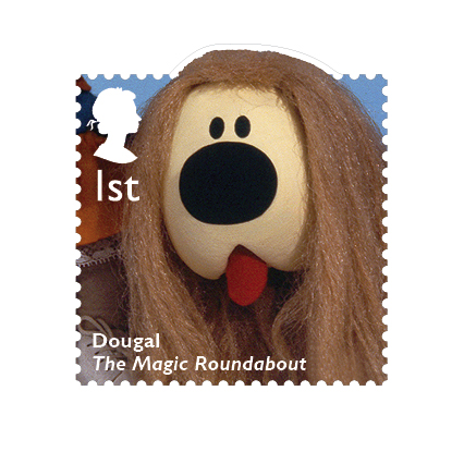 Dougal - The Magic Roundabout Created by Serge Danot made its UK debut in 1965.