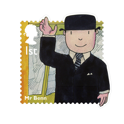 Mr Benn appeared in 1971, 'as if by magic'.