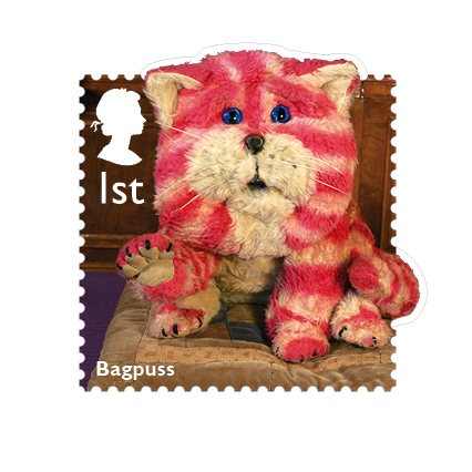 Bagpuss, a 'saggy old cloth cat' first appeared on our Television screens in 1974.