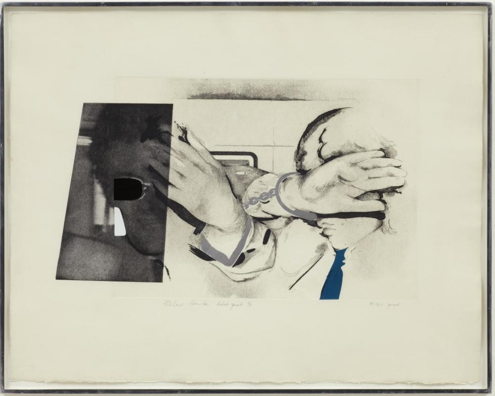 Swingeing London 67 – etching 1968