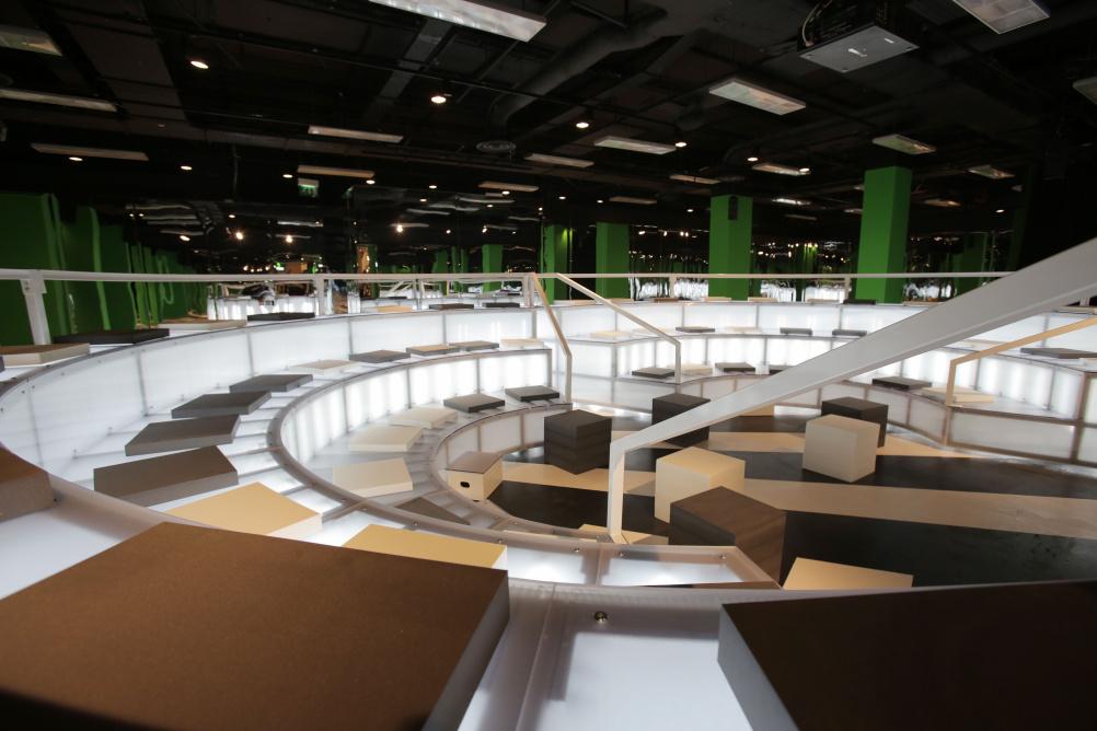 The Imaginarium at Selfridges London, designed by Rem Koolhaas