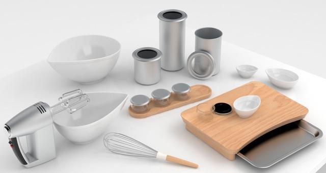 Universal Expert Kitchenware by Sebastian Conran.