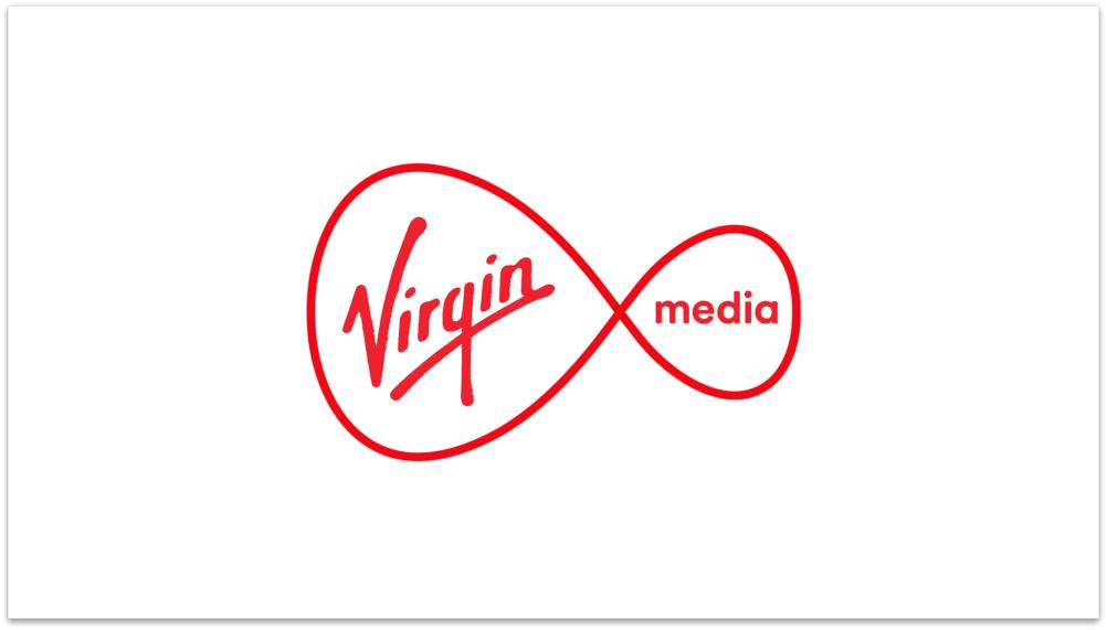 The new Virgin Media logo