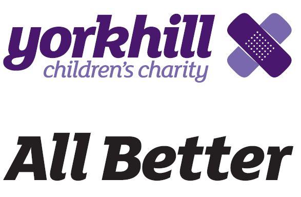 Yorkhill All Better logo and strapline