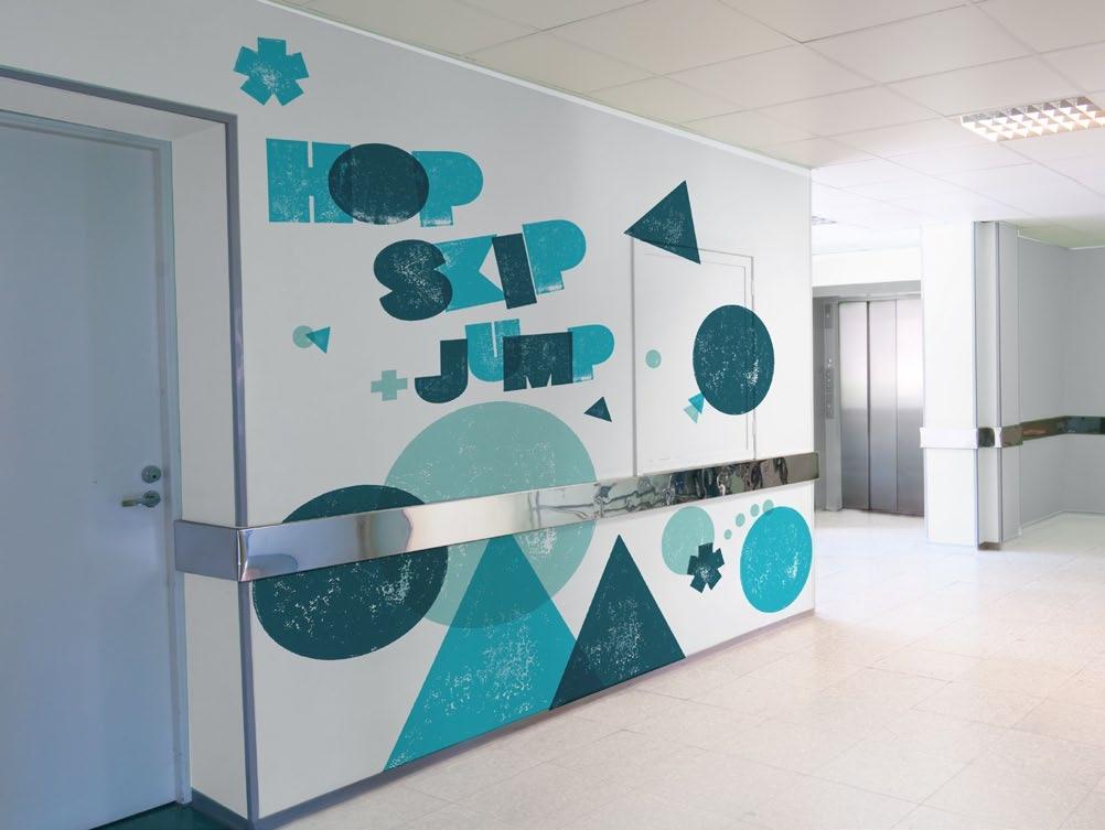 Yorkhill hospital wall