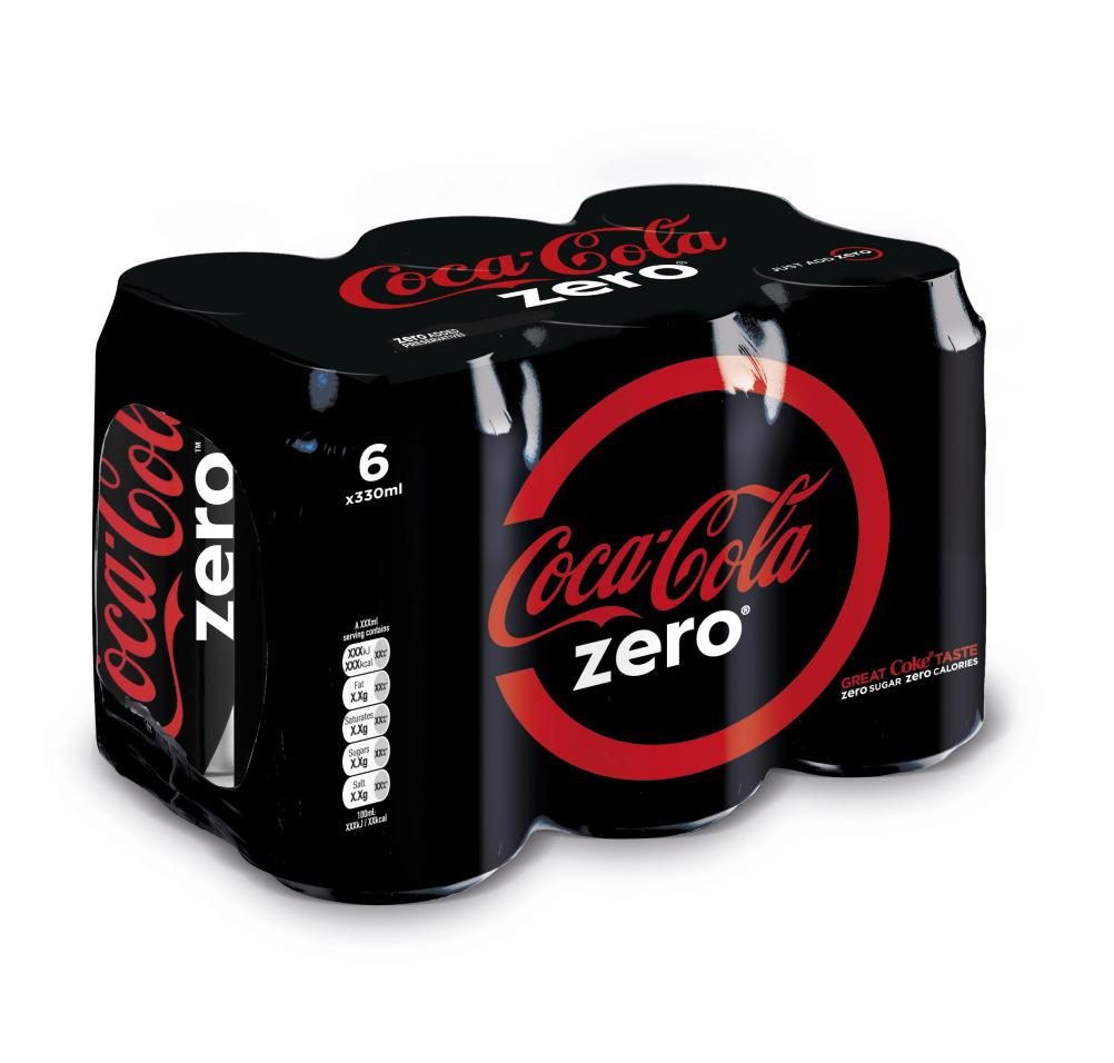 Coca-Cola Zero work by Bulletproof